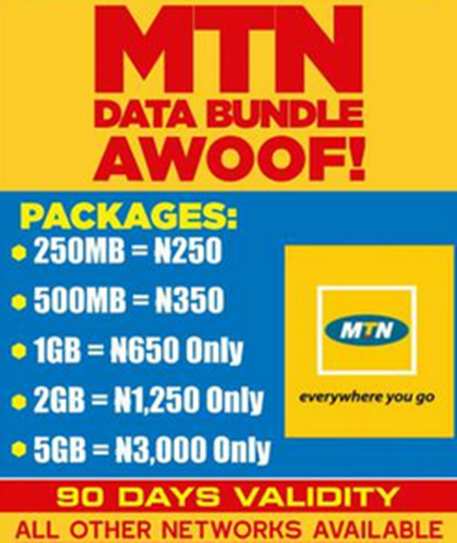 mtn 1gb data coder